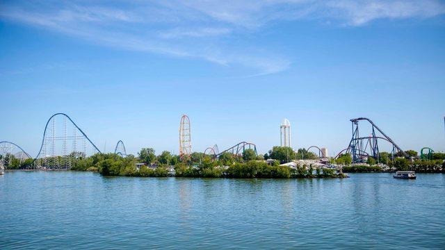 Cedar Point roller coaster closed after 'trains bump'