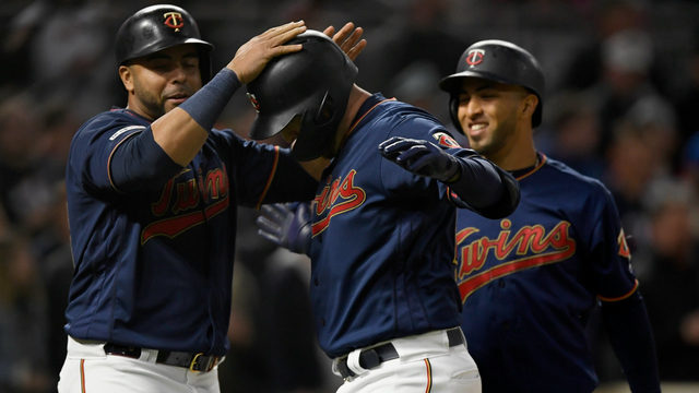 Twins take advantage of Tigers pitching, split DH in 8-3 win