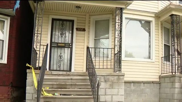24-year-old woman killed outside Detroit home Sunday morning