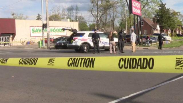 Man flees scene after double fatal high-speed crash on Detroit's west side