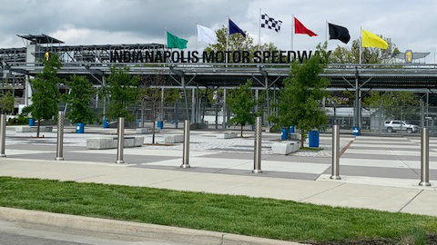Learning the ropes at Indianapolis Motor Speedway