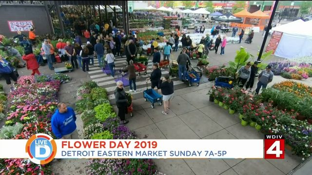 You won't want to miss Flower Day at Eastern Market!