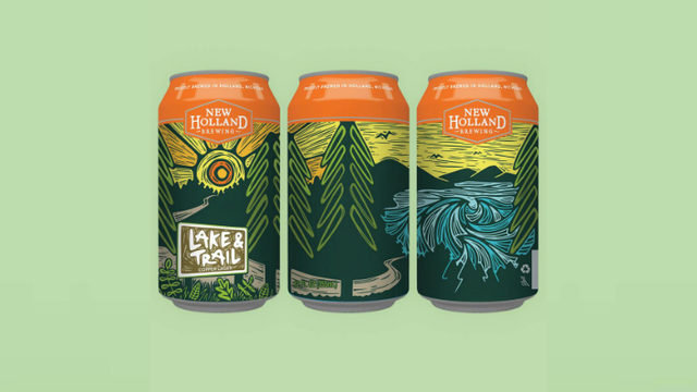 New Holland Brewing Co. releasing Lake & Trail Lager to celebrate 100&hellip&#x3b;