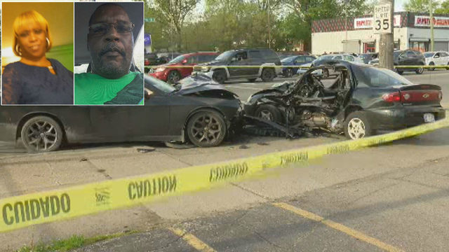 Mother of 3, boyfriend killed by speeding street racers on Detroit's…