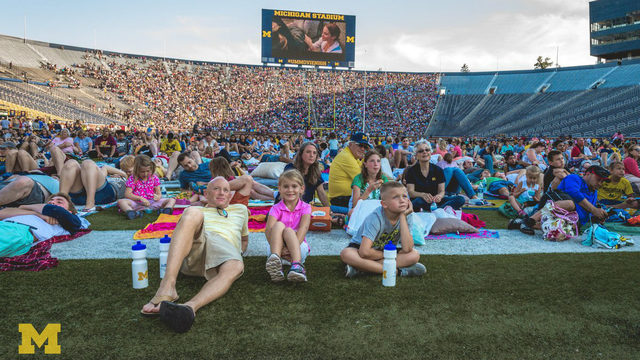 Last chance to vote for your favorite flick for Movie Night at Michigan Stadium