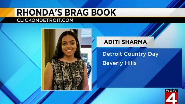 Rhonda's Brag Book: Aditi Sharma