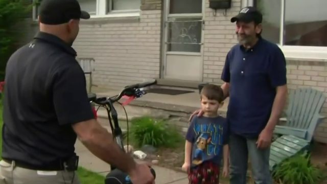 Air Force veteran receives heartfelt gift after motorized bicycle was…