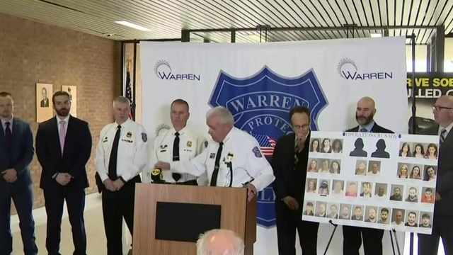 35 arrested in Warren human trafficking sting