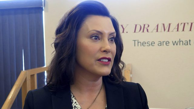 Michigan Gov. Gretchen Whitmer attends NGA Infrastructure Summit in Detroit