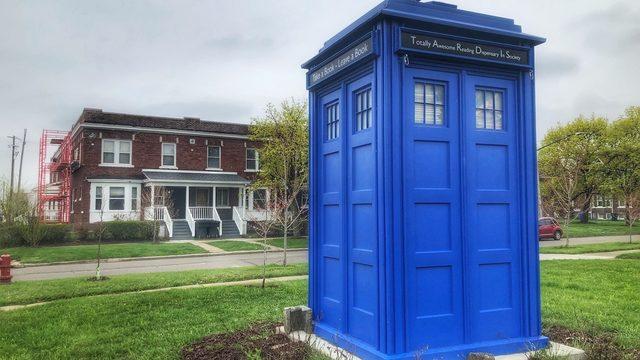 Uniquely Detroit: Story behind the TARDIS in Woodbridge