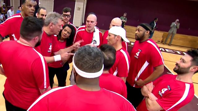 Watch: Charity basketball game between Local 4, Fox 2