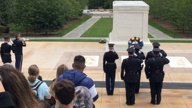 Redford Township Police Department lays wreath at Tomb of Unknown&hellip&#x3b;
