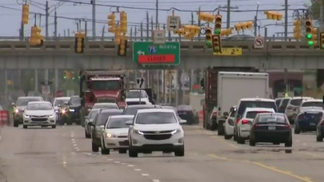Clawson residents frustrated with traffic from I-75 construction detour