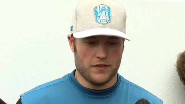 Lions QB Matthew Stafford talks about wife's brain surgery: 'It changes&hellip&#x3b;