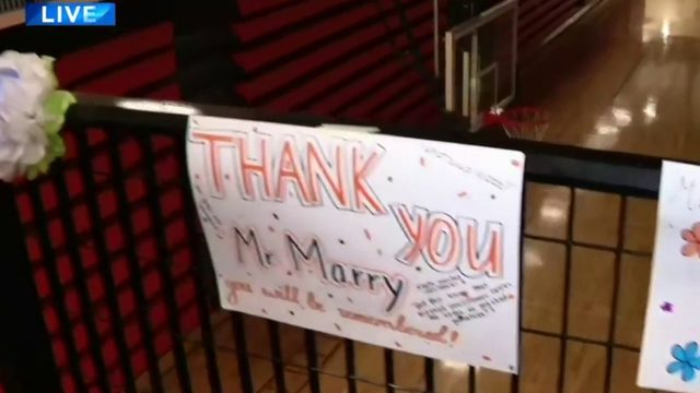 Tecumseh High School students honor math teacher who died unexpectedly…