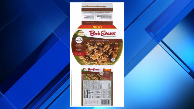 527 pounds of beef pasta products recalled
