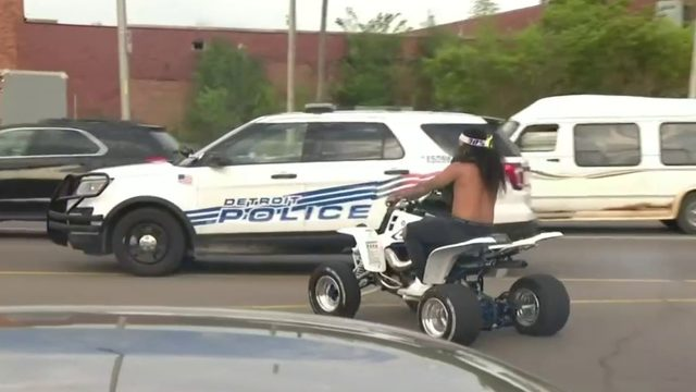 Detroit police chief: If you 'taunt' department with an ATV, 'we're&hellip&#x3b;