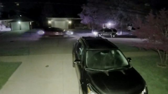 Doorbell cam captures video of driver smashing into parked car, driving…