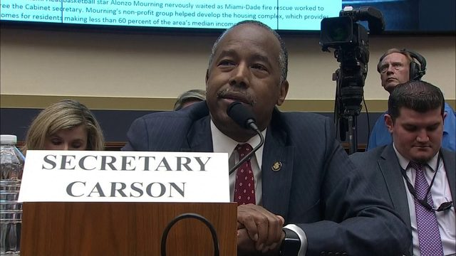 HUD Secretary Ben Carson mistakes real estate term for 'Oreo' during hearing