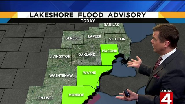 Metro Detroit weather: Rain through lunch hour, warmup arrives