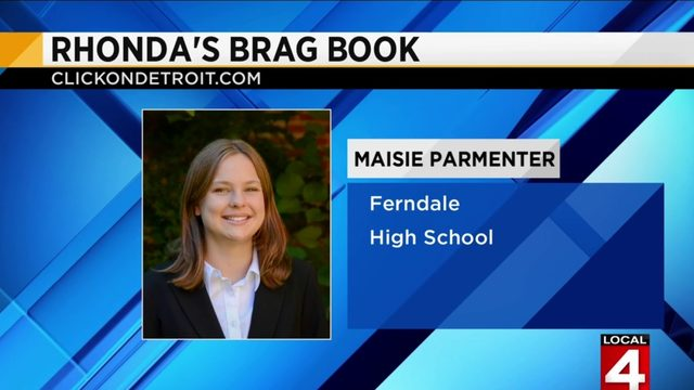 Rhonda's Brag Book: Maisie Parmenter