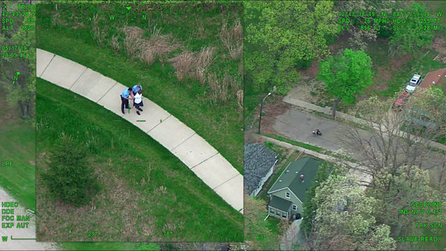 WATCH: Michigan State Police use chopper to catch robbery suspect who&hellip&#x3b;