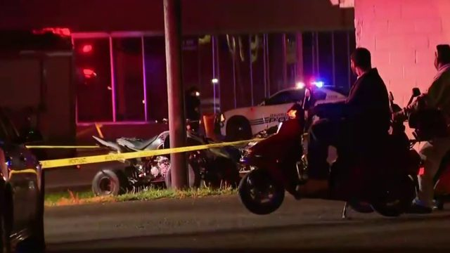 Driver killed when ATV crashes into building near Burt, Grand River in Detroit