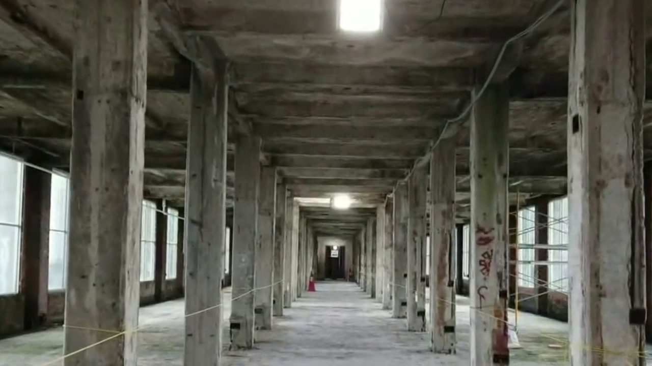 Ford offers peek at restoration efforts inside Detroit's historic Michigan Central Station