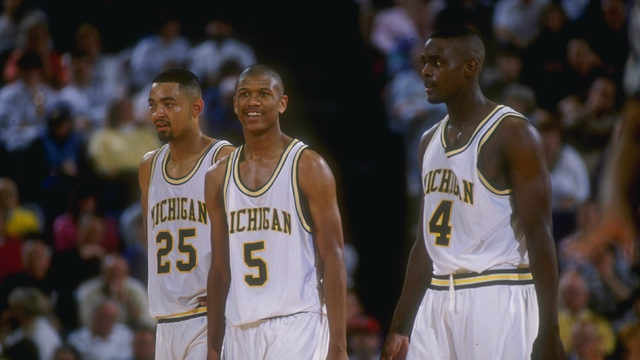 Jalen Rose is clearly very excited about the Fab Five now that Michigan…