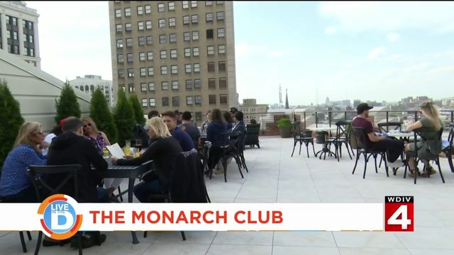 See Detroit after-hours from another level at The Monarch Club