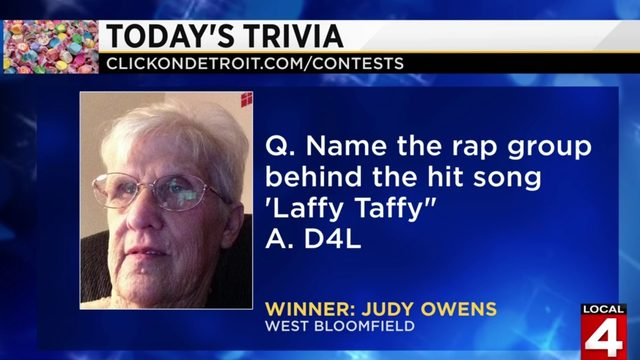Morning Trivia for May 23, 2019: Judy Owens is in the groove!