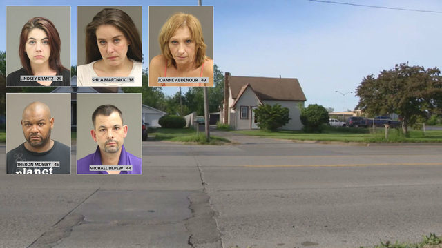 3 prostitutes, 2 men arrested at drug, prostitution house in Warren, police say