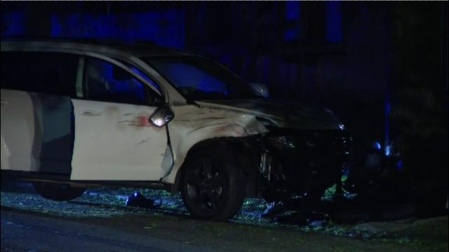2 people shot following crash during music video shoot on Detroit's east side