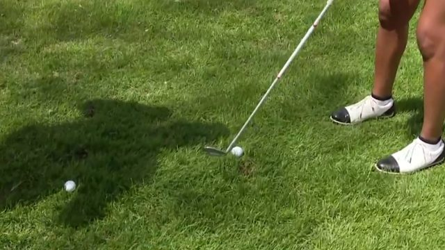 Golf tip: How to take the perfect flop shot
