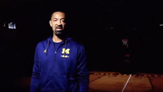 Michigan basketball coach Juwan Howard posts highlight video on new…