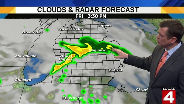 Metro Detroit weather: Severe storm chances this weekend