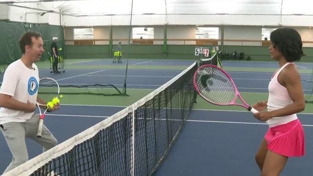 Tennis tips: How to work the net