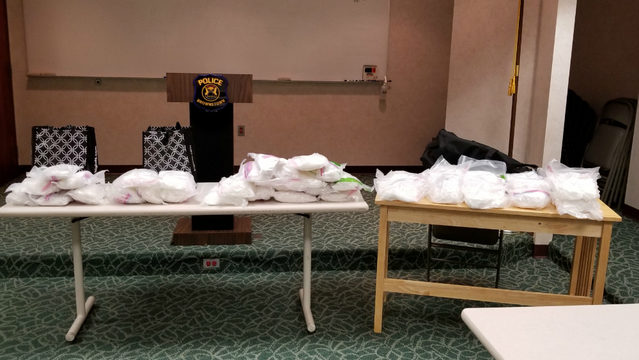 Police seize about 100 pounds of crystal meth during traffic stop in&hellip&#x3b;