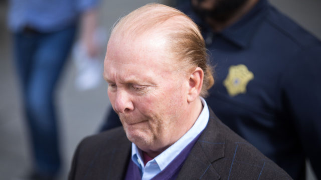 Chef Mario Batali pleads not guilty to assault charge