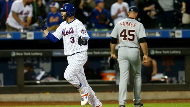Nido homers in 13th, Ramos homers twice as Mets top Tigers