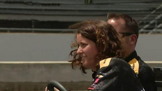 Michigan Mom one of few female mechanics in IndyCar