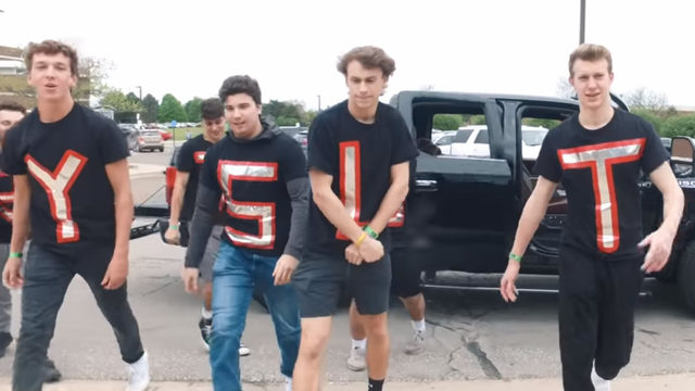 Troy High School students create hilarious dance music video