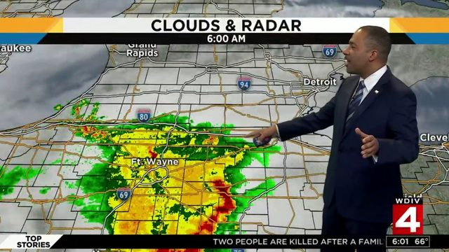 Metro Detroit weather forecast: Warm with more rain Sunday