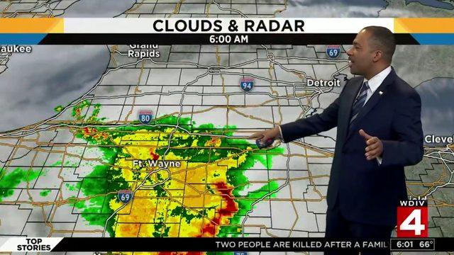 Metro Detroit weather forecast: Warm with more rain Sunday