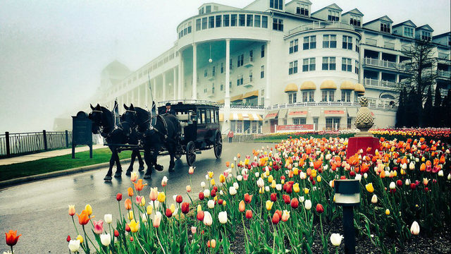 Mackinac Island's historic Grand Hotel sold to private equity firm
