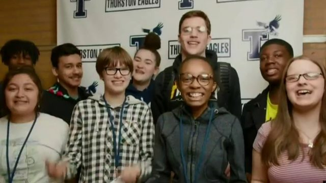 Students from Redford Township high schools team up for attendance initiative