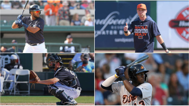 Ranking Detroit Tigers' top 10 position prospects based on offense so…