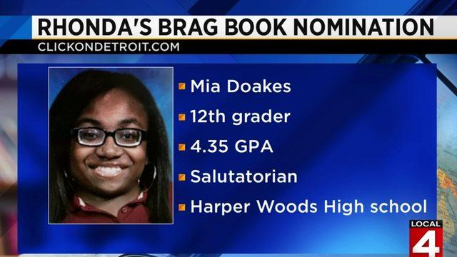 Rhonda's Brag Book: Mia Doakes