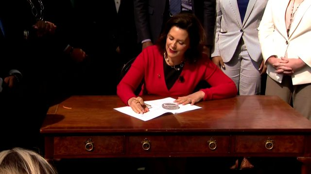 Michigan Gov. Whitmer signs state budget hours before deadline