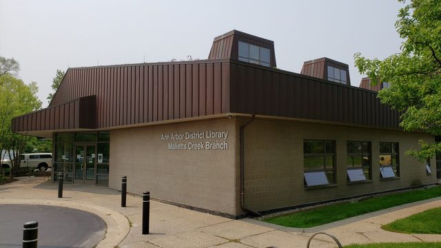 Ann Arbor District Library's Malletts Creek Branch to reopen Monday